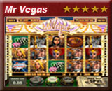 MR Vegas, videogokkast van Amsterdams Casino