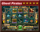 Ghost Pirates, een schitterende video gokkast van kroon casino