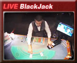 Live Blackjack, speel blackjack in een echt casino via een livevideostream