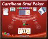 Carribean Poker is het meest gespeelde kaartspel in het casino