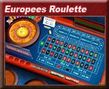 Europees Roulette, voorspel waar de bal valt en win