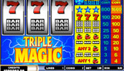 Triple Magic klassieke casino gokkast